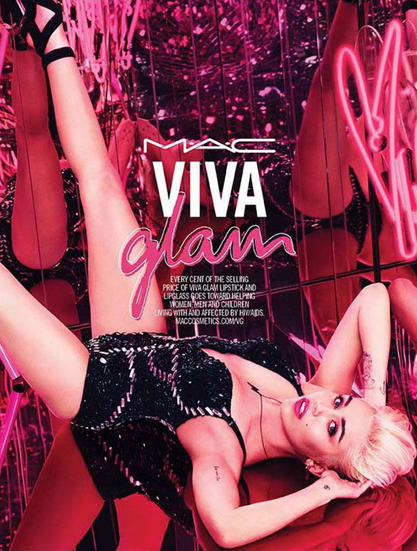 Коллекция Майли Сайрус Viva Glam collection