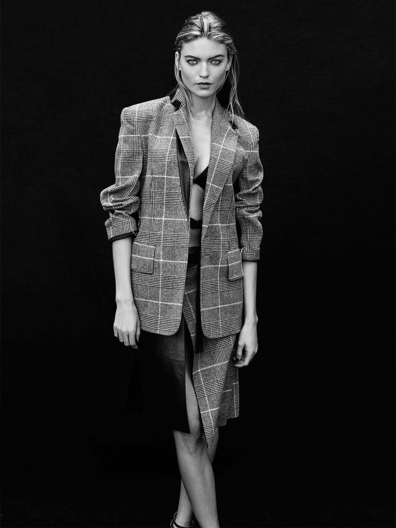 Само очарование: Супермодель Марта Хант позирует в новой фотосессии для Vogue Марта Хант фото, Марта Хант