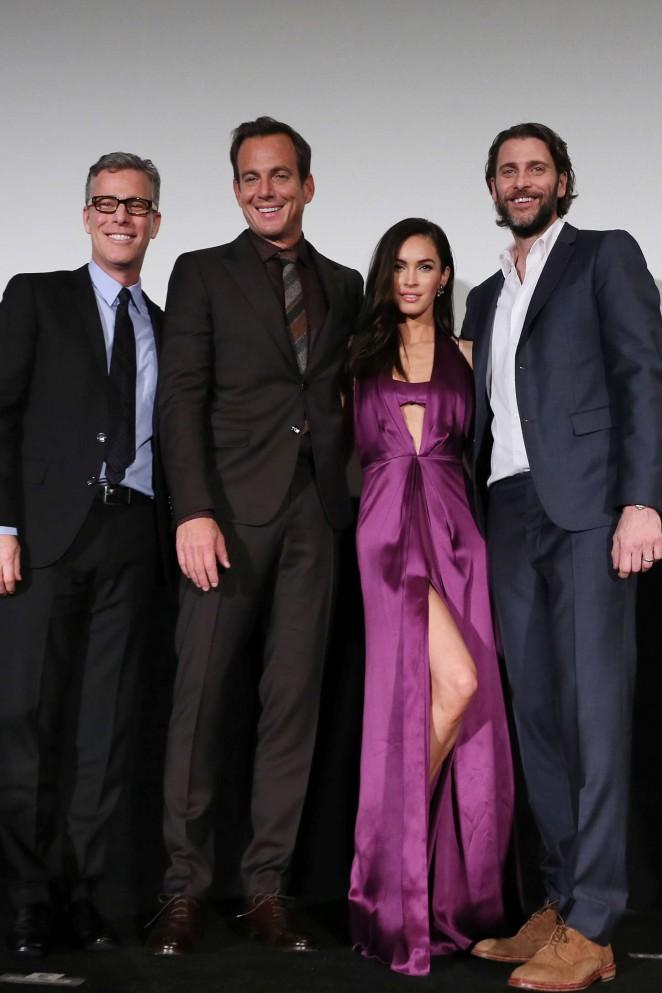 Леди Совершенство: Меган Фокс появилась на премьере Черепашек Ниндзя