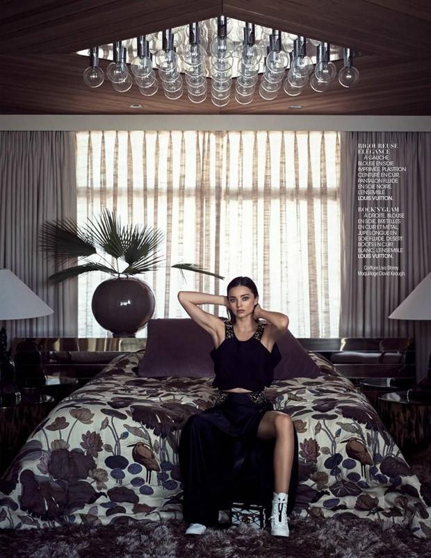 Красота на показ: Миранда Керр в новой fashion story в нарядах Louis Vuitton