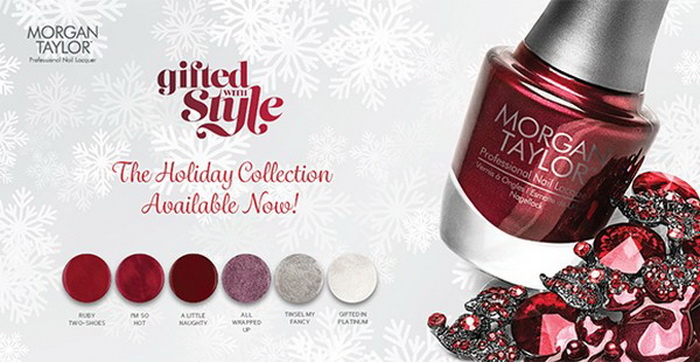 Gifted with Style Collection Holiday 2015 от Morgan Taylor