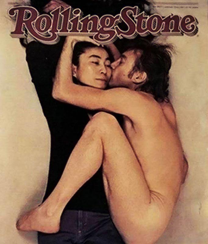 Джон Леннон и Йоко Оно для Rolling Stone