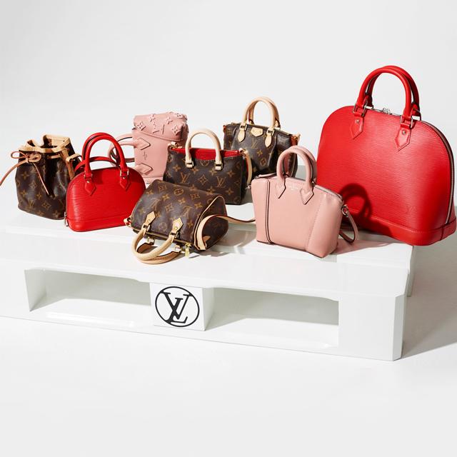Мини-копия: Louis Vuitton перевыпустил легендарные сумки