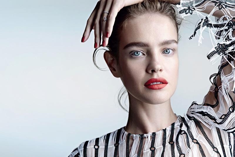 Beauty с большой буквы B: beauty-образ Натальи Водяновой в фотосессии для свежего Allure