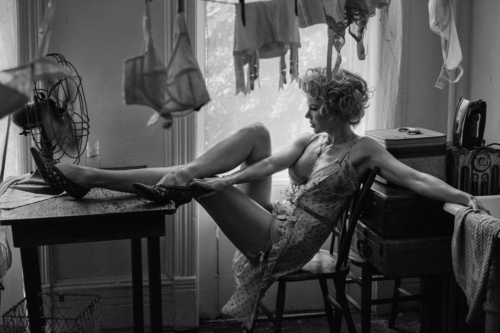 шикарный ретро-образ Николь Кидман в съемке для Interview