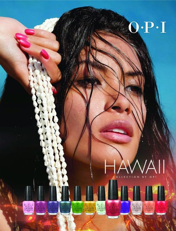 OPI Hawaii Collection весна-лето 2015