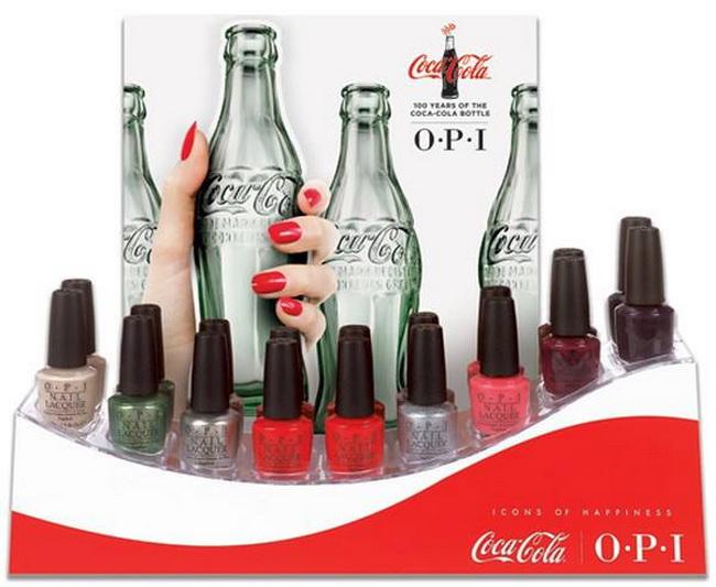 OPI представил коллекцию лаков в честь Coca-Cola
