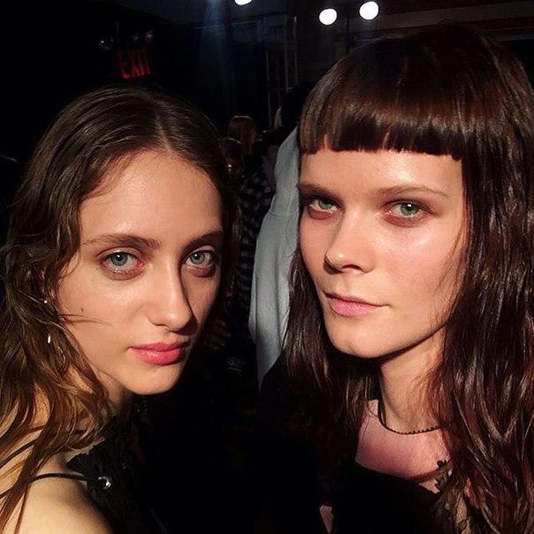 Ирина Кравченко - украинская топ-модель покорят Неделю моды в Нью-Йорке фото