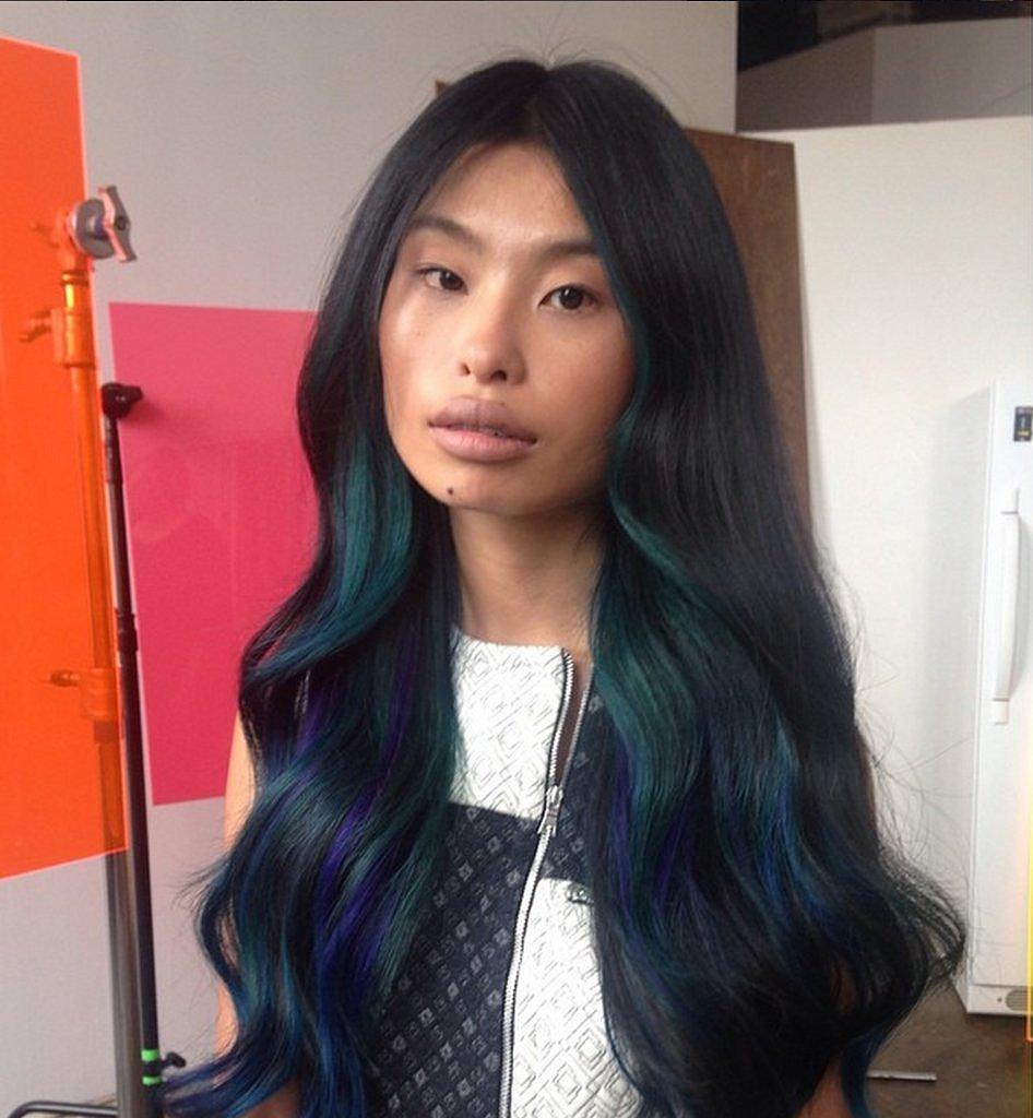 способы окраски волос в яркие цвета