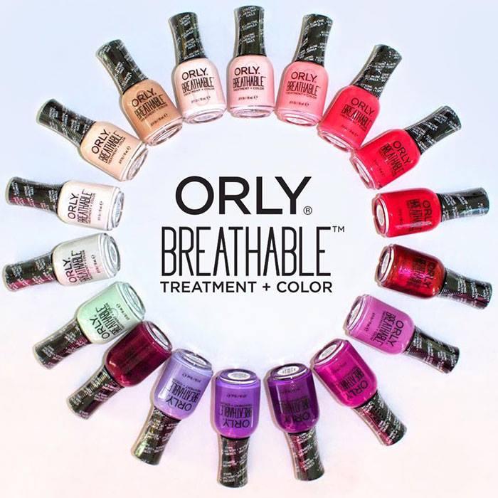 Полезный маникюр: новые лаки с укрепляющим действием Breathable Treatment Color Fall от Orly