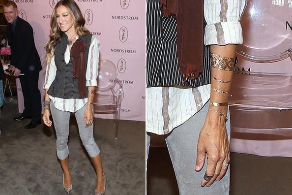 Новый золотой тренд: татуировки от Dior