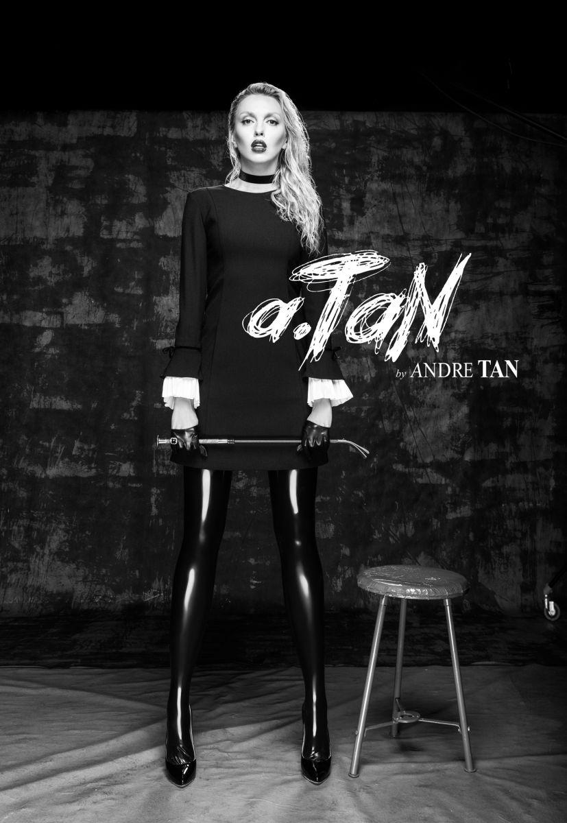 Не узнать: Оля Полякова сменила стиль и стала лицом новой коллекции Андре Тана (ФОТО)