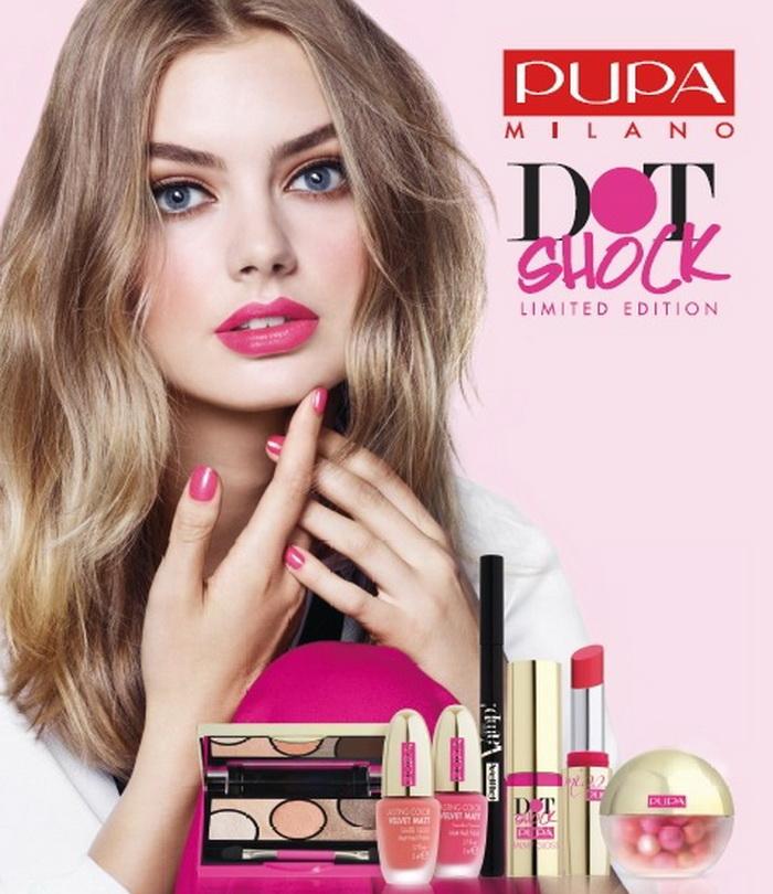 Поставь точку: коллекция макияжа весна-лето 2016 Dot Shock от Pupa