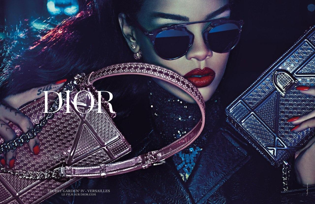 Miss Dior: Рианна показала мини-фильм со своим участием