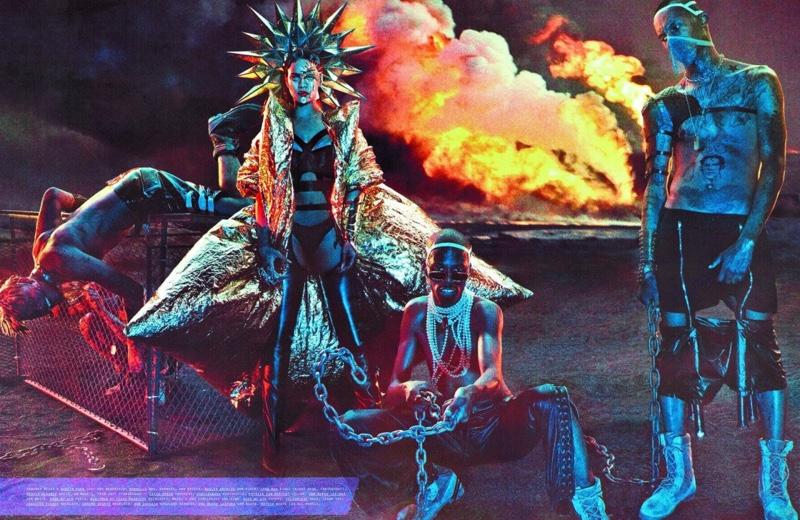 Рианна в новой съемке предстала в постапокалистическом образе (ФОТО)