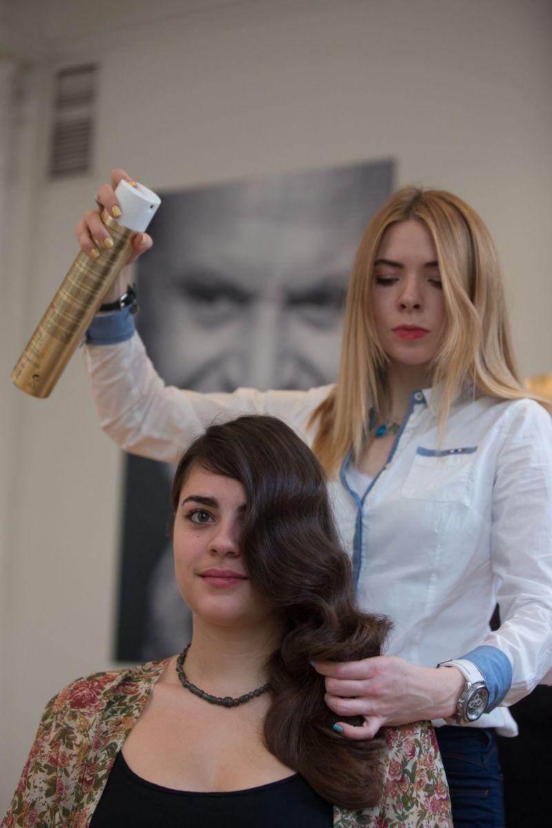 Ангелина Комарова стилист