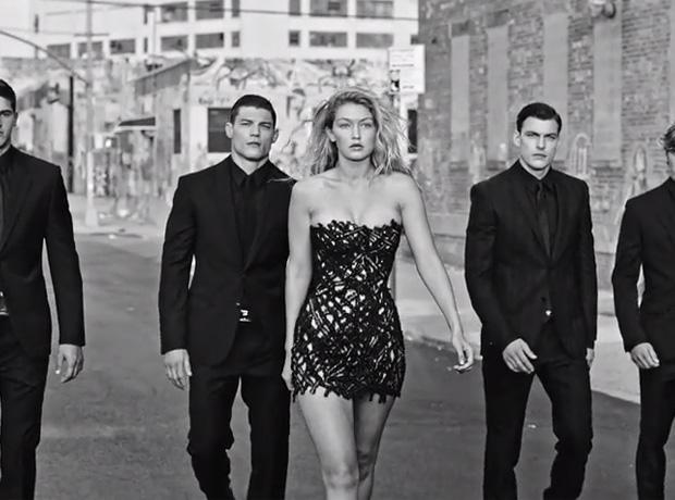 Элегантная роскошь: Джиджи Хадид в рекламном ролике нового мужского парфюма VERSACE Dylan Blue (ФОТО+ВИДЕО)