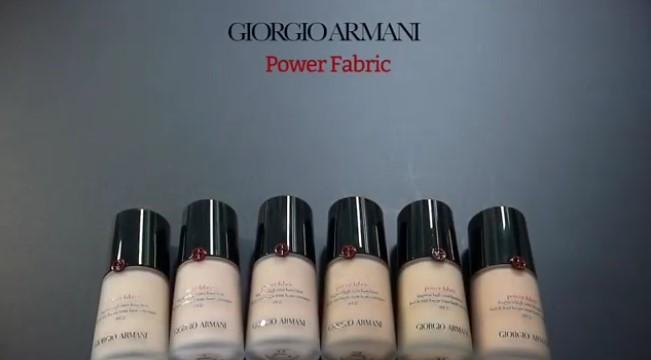 Giorgio Armani представил новый тональный крем