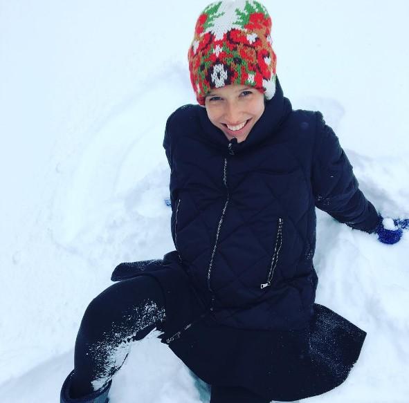 Катерина Осадчая показала, как выглядела в 13 лет на подиуме