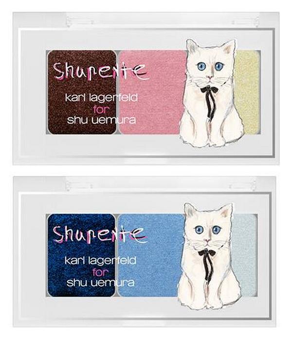 Огромная рождественская коллекция макияжа от кошки Карла Лагерфельда