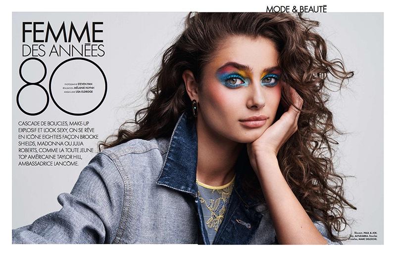 Кокетка: Блистательная Тейлор Хилл в новой фотосессии для ELLE покоряет макияжем и образами Тейлор Хилл фотосессия, Тейлор Хилл фото