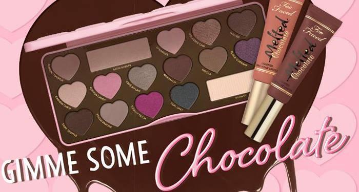 Шоколадное мороженое: весенняя коллекция макияжа Chocolate от Too Faced