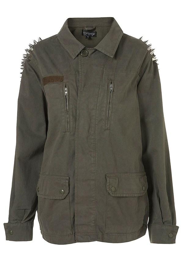 Куртка кожаная кремовая