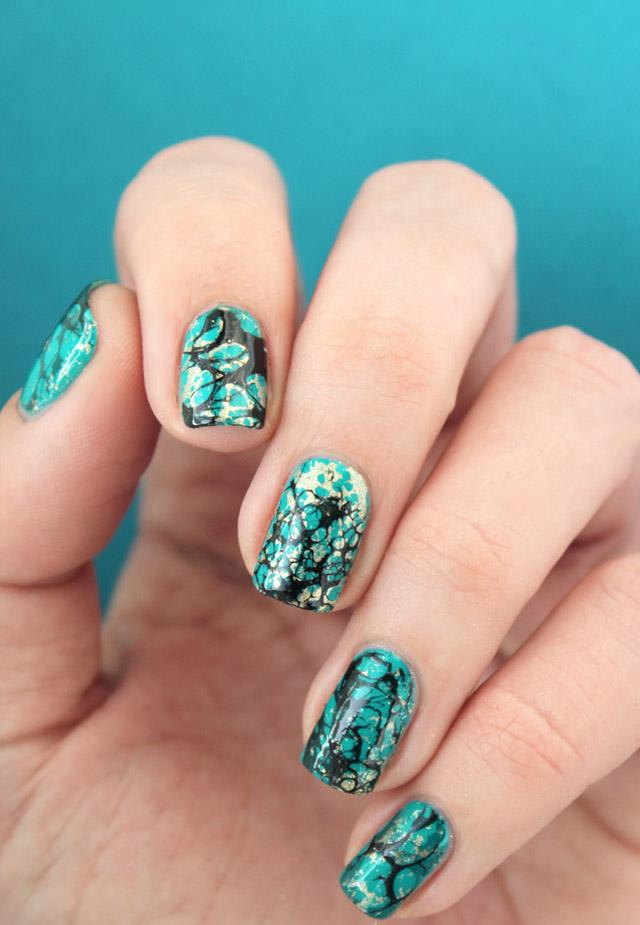 Пятничный маникюр: бирюза на ногтях - пошаговый урок нейл-арта