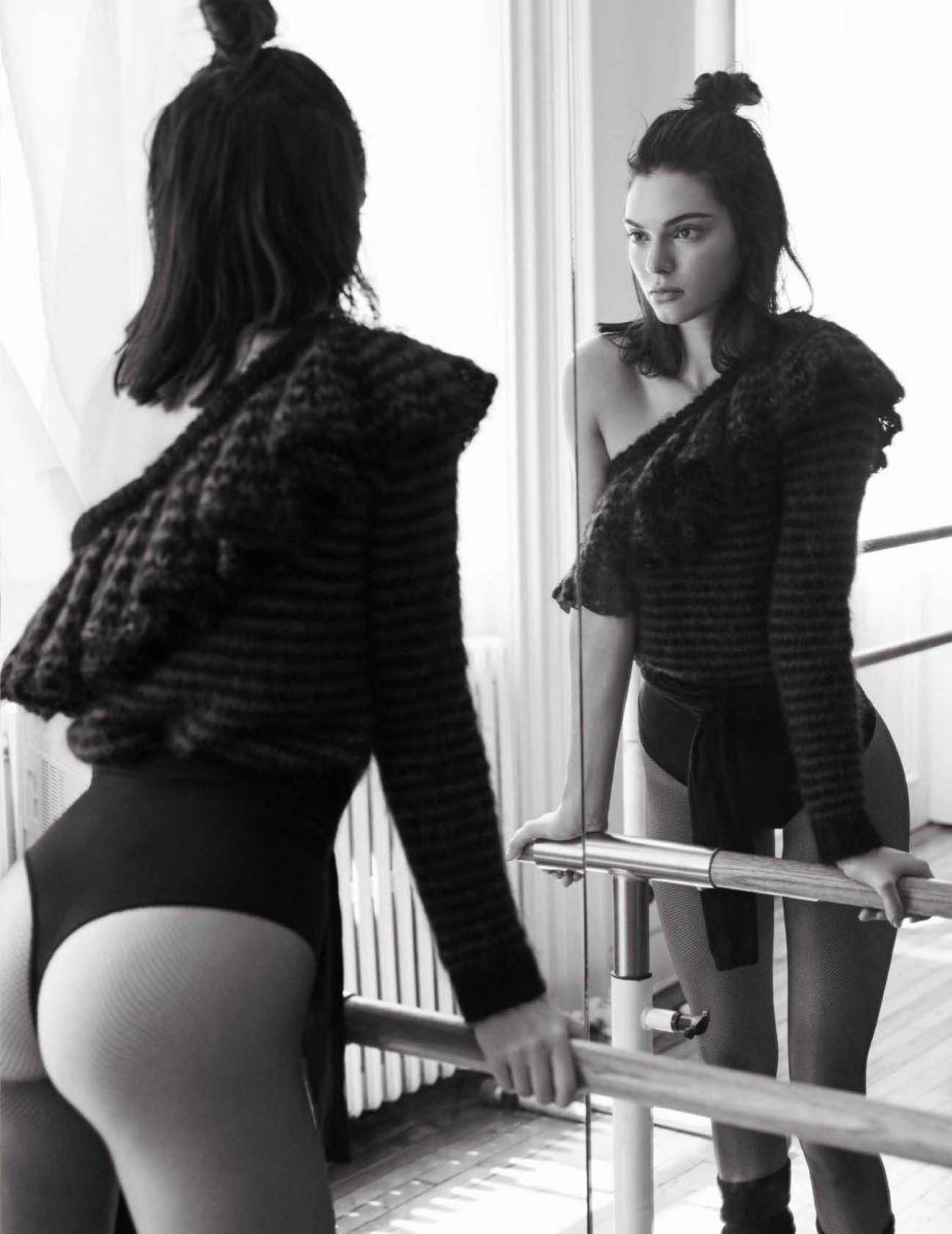 Кендалл Дженнер показала роскошную фигуру в новой фотосессии для Библии моды (ФОТО)