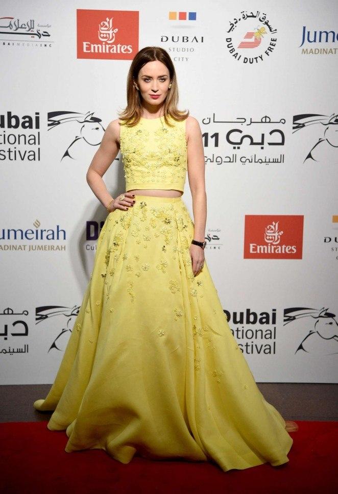 Ольга Куриленко и Эмили Блант блистают на Dubai Film Festival