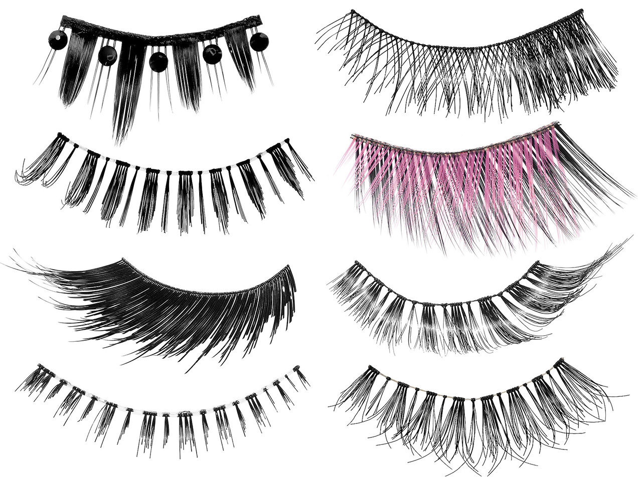 Коллекция накладных ресниц Make Up For Ever Lash Show Instant Drama False Lashes, цена: $18