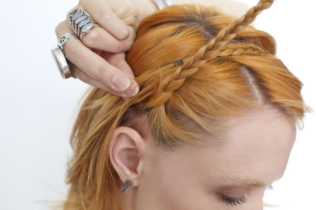 Пошаговый урок: самая простая прическа лета 2016 - коса-ободок