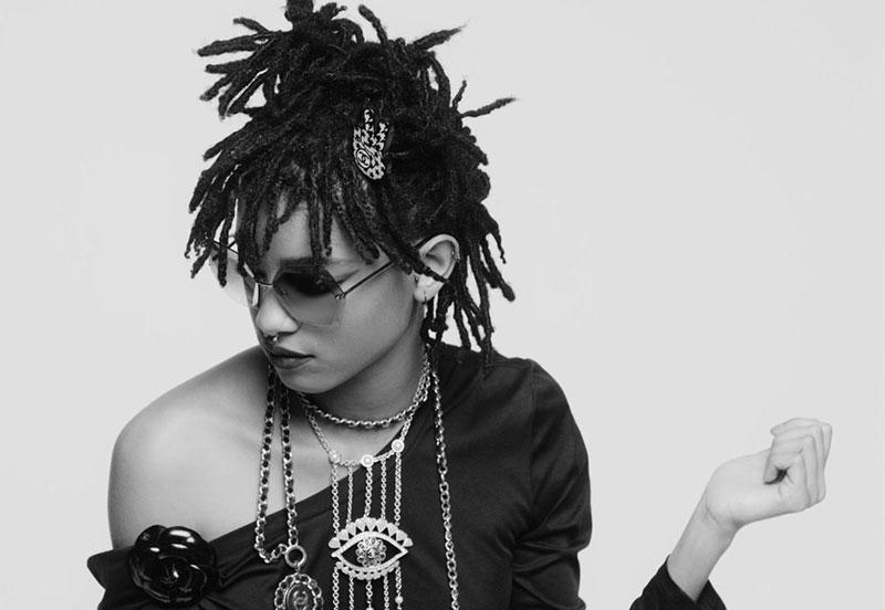 Карловы очи: Уиллоу Смит предстваляет солнцезашитные очки Chanel