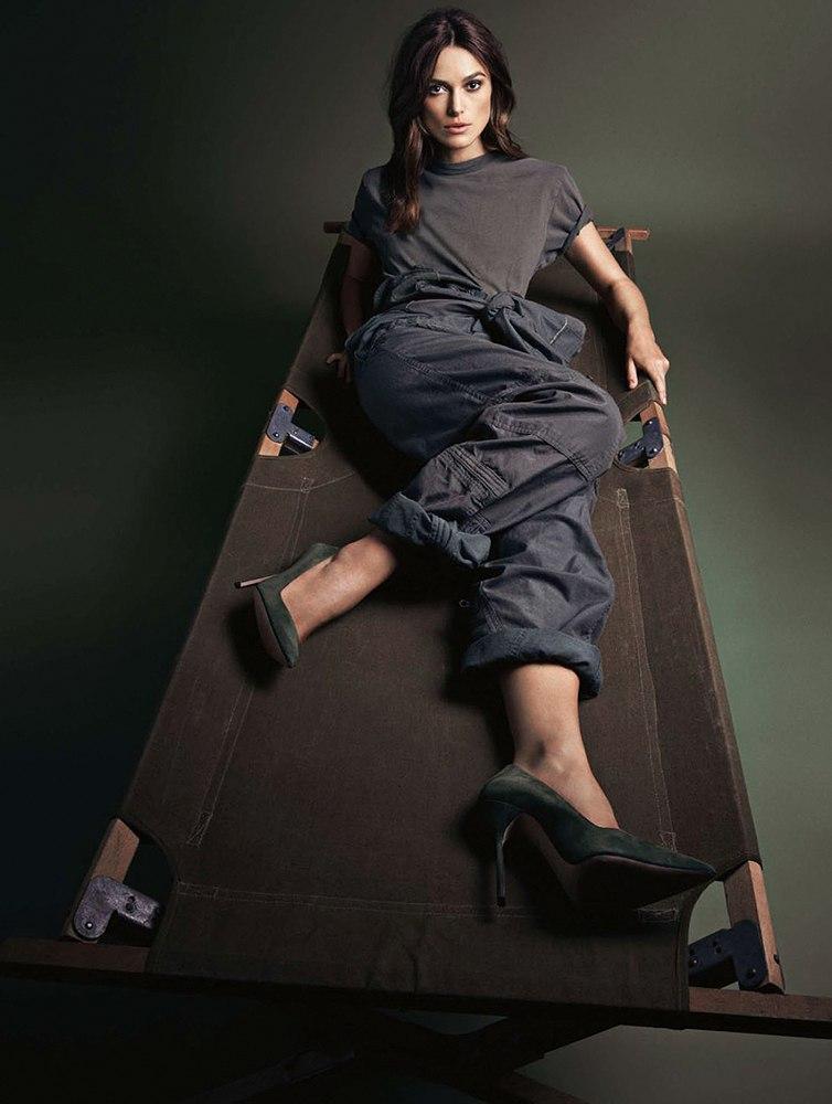 Кира Найтли блистает в гламурной фотосессии
