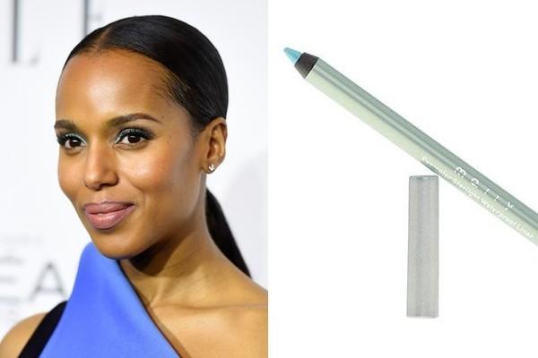 Звездный пример: 13 способов использовать цветной лайнер в макияже