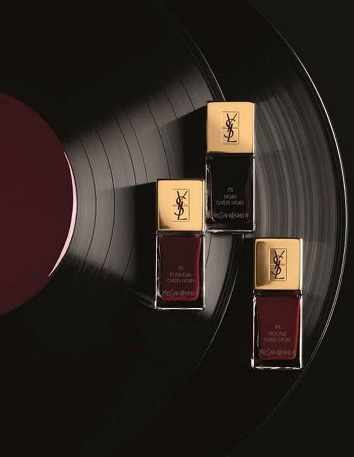 Библиотека винила: коллекция макияжа осень 2016 Vernis A Levres Vinyl Cream от YSL