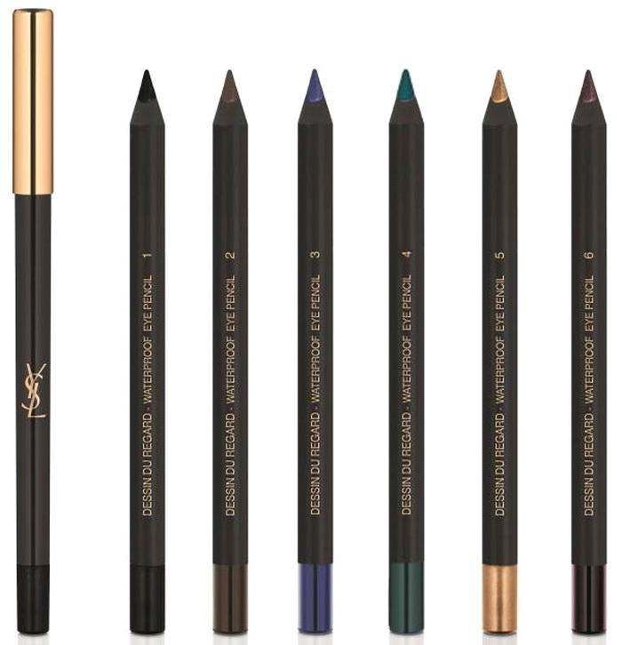Очи черные: новая коллекция для макияжа глаз YSL Eyes Makeup Collection Summer 2016