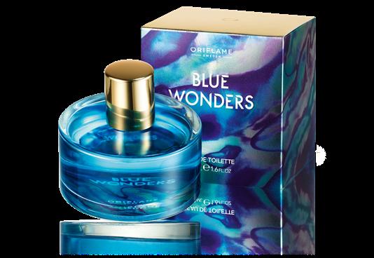 Женщина и море: романтическая идиллия аромата Blue Wonders