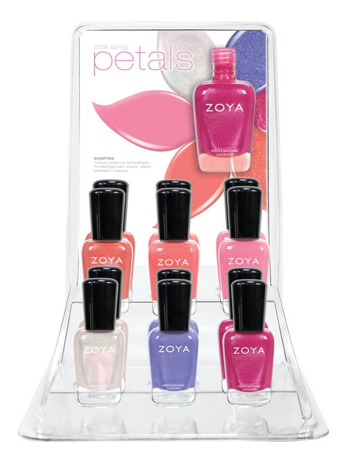 Донна Роза: весенняя коллекция лаков для ногтей Petals от Zoya