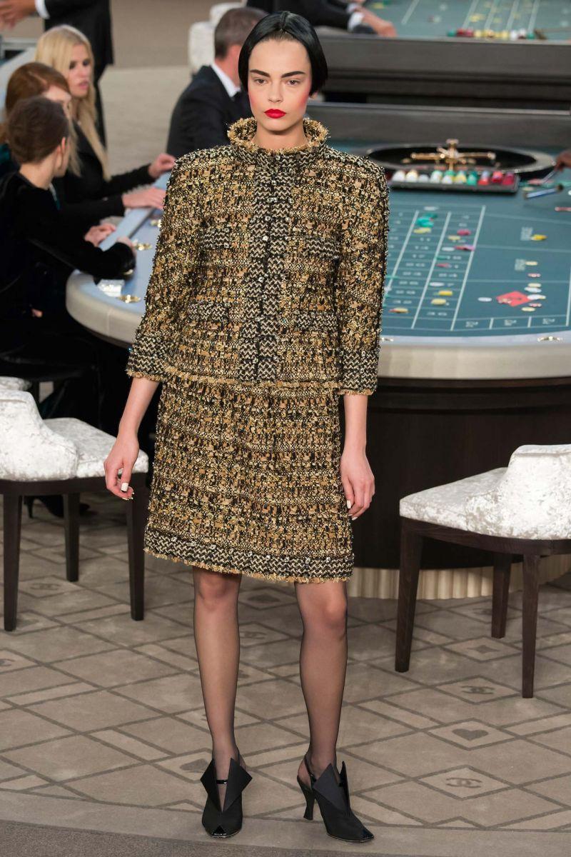 Chanel Haute Couture осень 2015