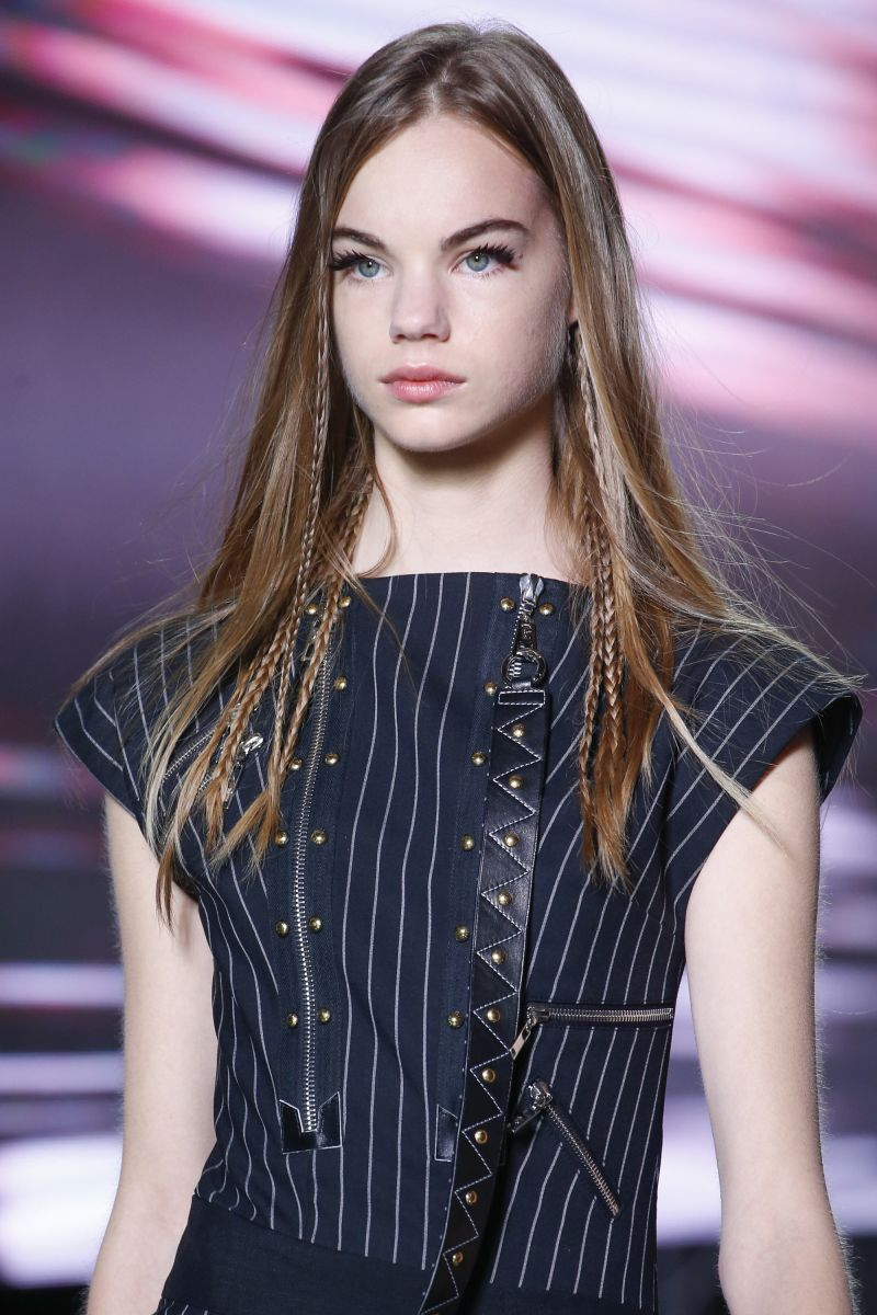 бьюти-образы показа Louis Vuitton сезона весна-лето 2016