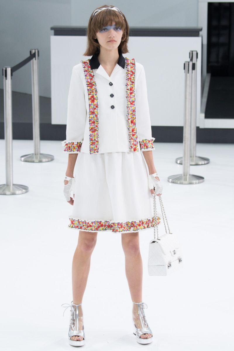 Chanel Airlines, выход №5: показ коллекции Dior сезона весна-лето 2016