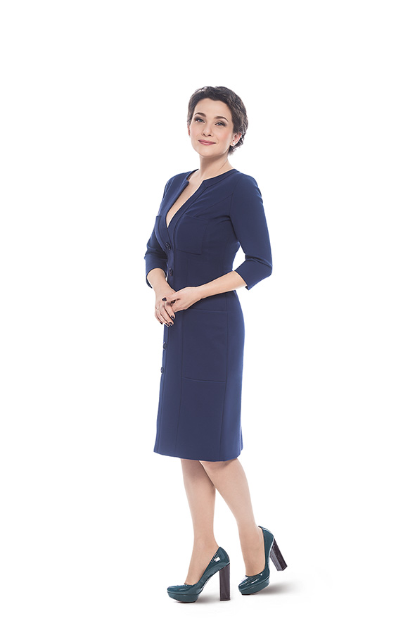 Новый урок стиля! Как одеваются украинские телеведущие: Тала Калатай