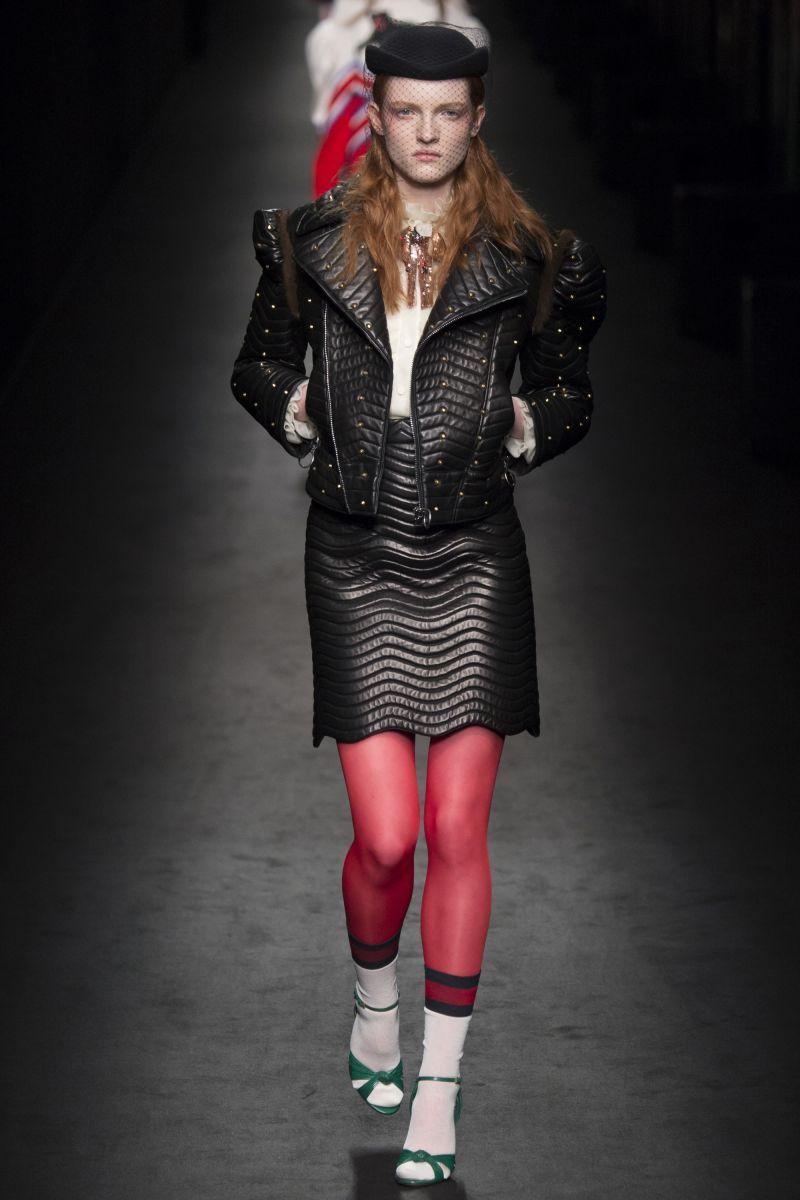 Gucci Spring 2017 Ready-to-Wear Fashion Show Обувь
