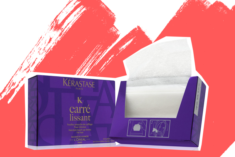 Мастер-универсал: Kerastase выпустили инновационные салфетки для волос Carre Lissant