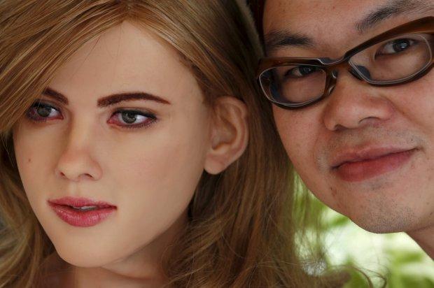 Дроид по имени Скарлетт: китаец создал точную копию актрисы Йоханссон