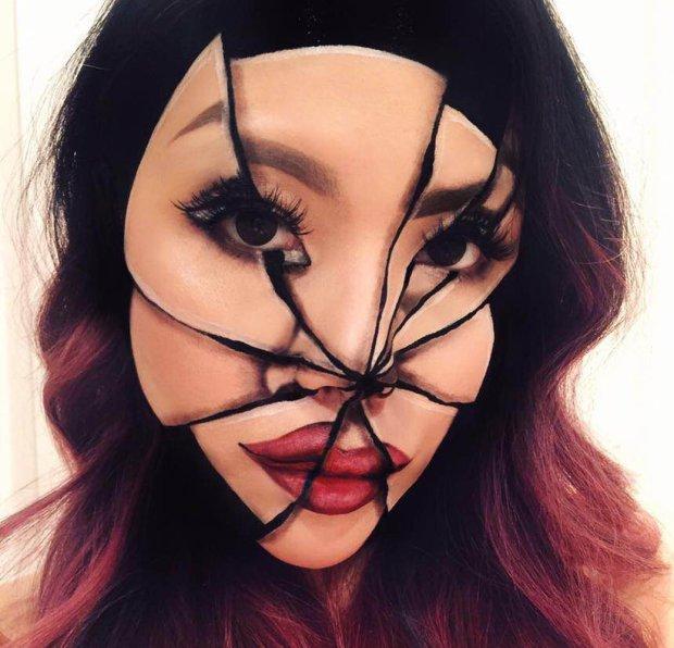Это не фотошоп: Учительница, ставшая визажистом, покорила интернет макияжем-иллюзиями визажист, визажист инста, визажист Instagram, визажист хит сети