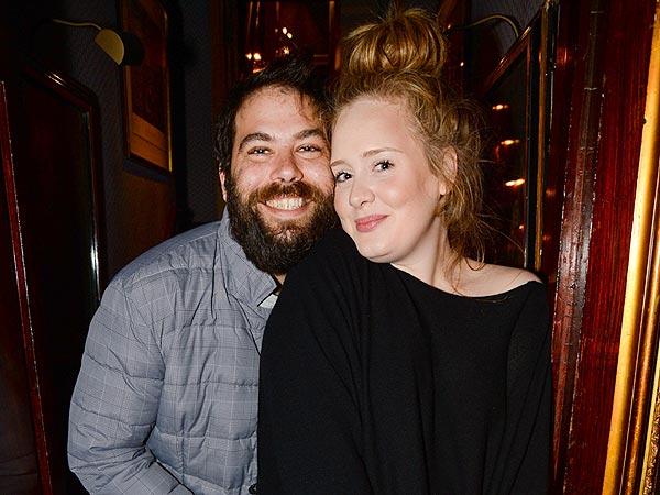 Адель с мужем фото