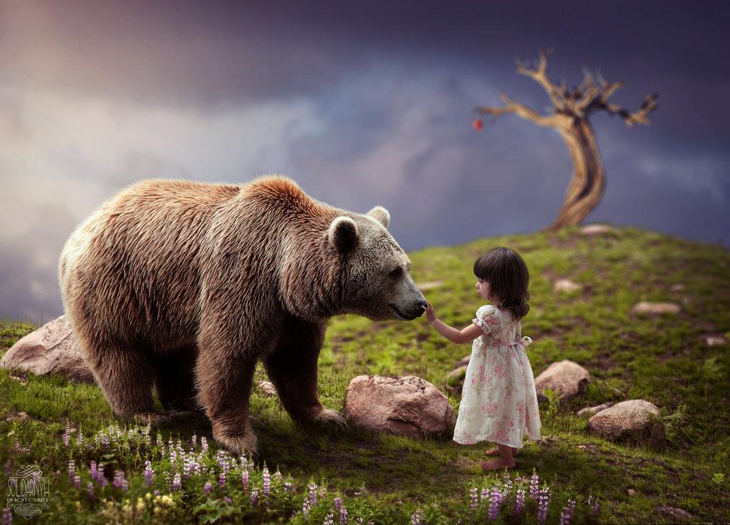 Сказка своими руками: украинский фотошопер удивила мир фентези-картинами фотошоп работы, фентези фотошоп, фотошоп дизайн