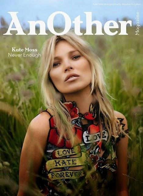 Королева фотошопа: Кейт Мосс появилась на обложке Another Magazine.